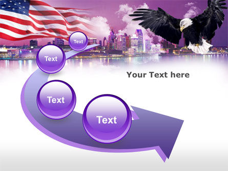 American Eagle PowerPoint Template Slide 6