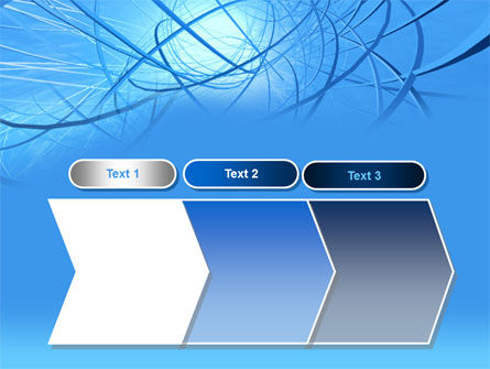 Blue Wires PowerPoint Template Slide 16