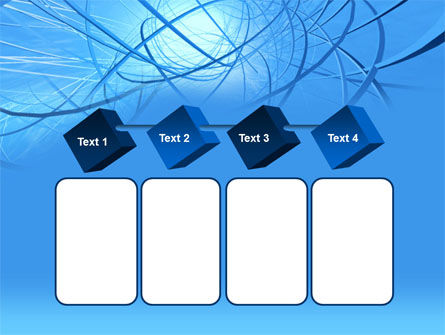 Blue Wires PowerPoint Template Slide 18
