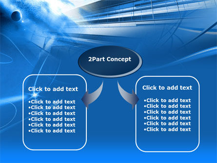Blue Cable and Wires PowerPoint Template Slide 4