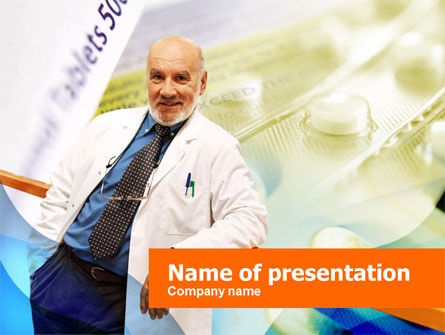 Medical: Productie Van De Apotheek PowerPoint Template #00355