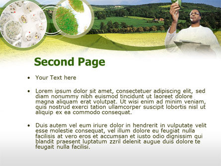 Field Agronomy PowerPoint Template, Slide 2, 00359, Technology and Science — PoweredTemplate.com