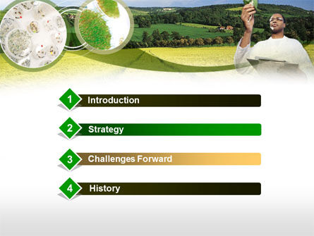 Field Agronomy PowerPoint Template, Slide 3, 00359, Technology and Science — PoweredTemplate.com
