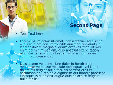 Young Scientist Free PowerPoint Template Slide 2