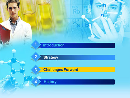 Free Young Scientist PowerPoint Template Slide 3