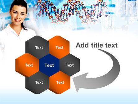 Genetic Studies Laboratory PowerPoint Template Slide 11