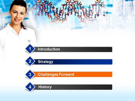 Genetic Studies Laboratory PowerPoint Template Slide 3
