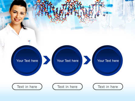 Genetic Studies Laboratory PowerPoint Template Slide 5