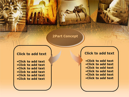 Pyramids Of Giza PowerPoint Template, Slide 4, 00364, Education & Training — PoweredTemplate.com
