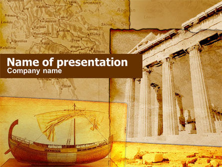 Education & Training: Classic Ancient Greece PowerPoint Template #00365