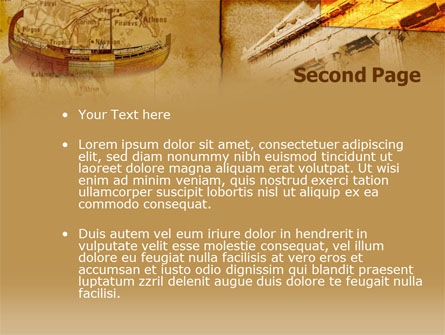 Classic ancient greece powerpoint template backgrounds for Ancient greece powerpoint template