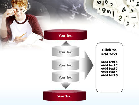 Student Of Mathematics PowerPoint Template Slide 13
