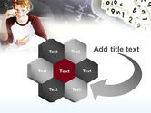Student Of Mathematics PowerPoint Template#11