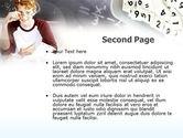 Student Of Mathematics PowerPoint Template#2