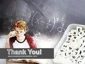 Student Of Mathematics PowerPoint Template#20