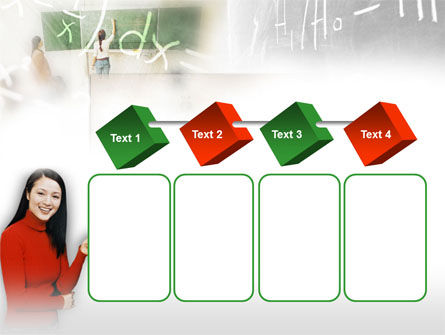 Teacher Of Mathematics PowerPoint Template Slide 18