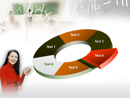 Teacher Of Mathematics PowerPoint Template Slide 19