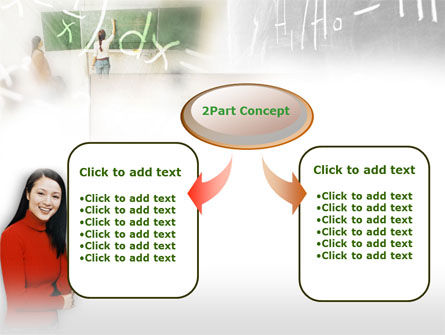 Teacher Of Mathematics PowerPoint Template Slide 4