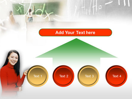 Teacher Of Mathematics PowerPoint Template Slide 8