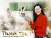Teacher Of Mathematics PowerPoint Template#20