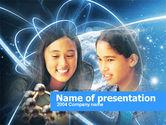 Education & Training: Modelo de PowerPoint Grátis - estudo da ciência natural #00368