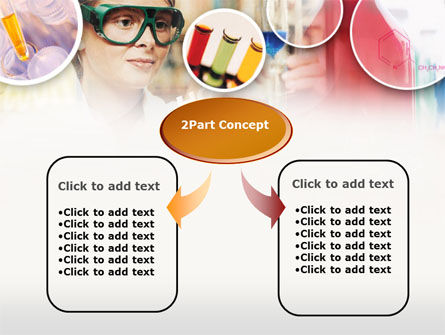 Laboratory Tester in Process PowerPoint Template, Slide 4, 00369, Technology and Science — PoweredTemplate.com