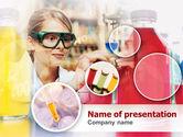 Technology and Science: Laboratorium Tester Werkwijze PowerPoint Template #00369