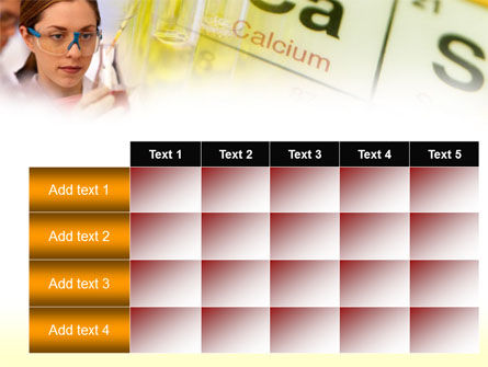 Study of Chemistry PowerPoint Template Slide 15