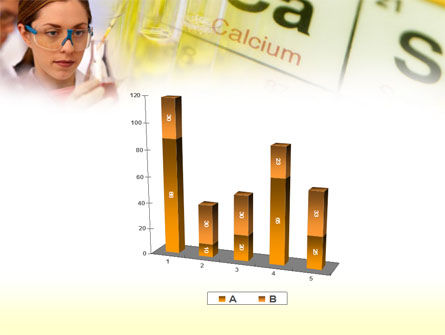 Study of Chemistry PowerPoint Template Slide 17