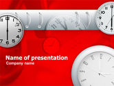 Business Concepts: Time Managing PowerPoint Template #00373