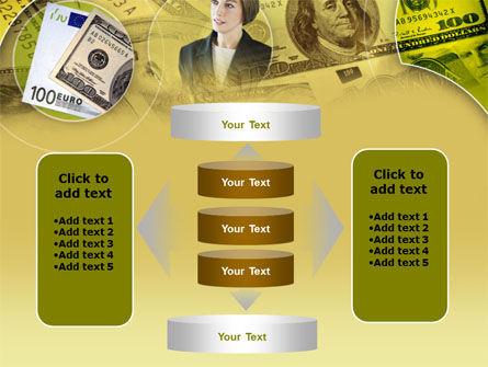 Lady Financier PowerPoint Template Slide 13