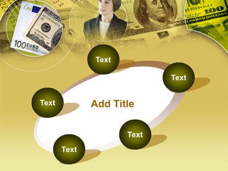 Lady Financier PowerPoint Template Slide 14