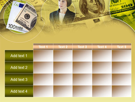 Lady Financier PowerPoint Template Slide 15