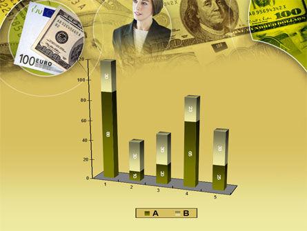Lady Financier PowerPoint Template Slide 17