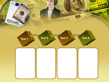 Lady Financier PowerPoint Template Slide 18