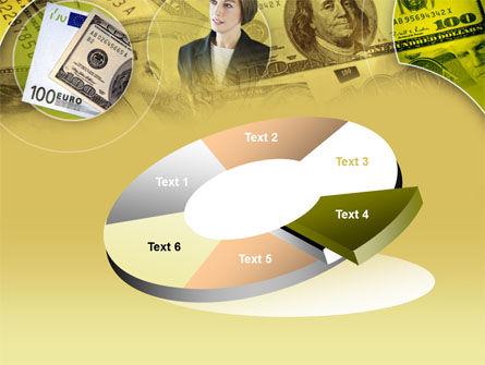 Lady Financier PowerPoint Template Slide 19