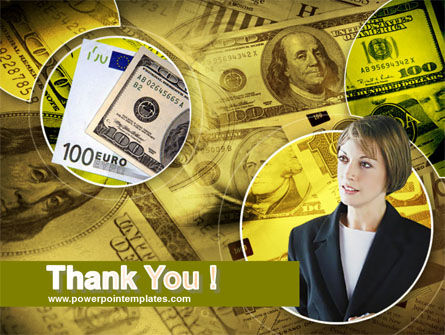 Lady Financier PowerPoint Template Slide 20