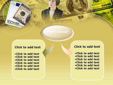 Lady Financier PowerPoint Template Slide 4