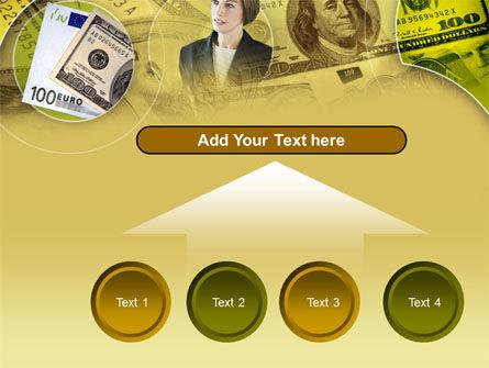 Lady Financier PowerPoint Template Slide 8