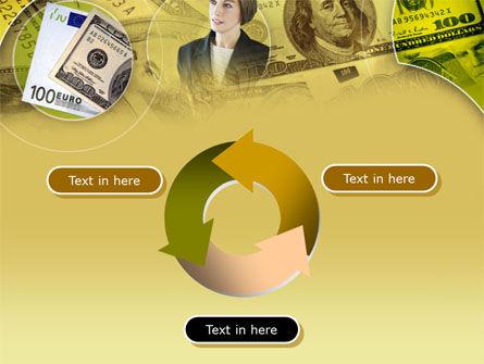 Lady Financier PowerPoint Template Slide 9