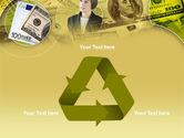 Lady Financier PowerPoint Template#10