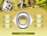 Lady Financier PowerPoint Template#12