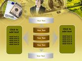 Lady Financier PowerPoint Template#13
