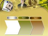 Lady Financier PowerPoint Template#16