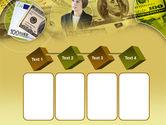 Lady Financier PowerPoint Template#18