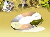 Lady Financier PowerPoint Template#19