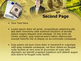 Lady Financier PowerPoint Template#2