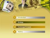 Lady Financier PowerPoint Template#3