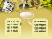 Lady Financier PowerPoint Template#4