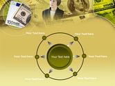 Lady Financier PowerPoint Template#7